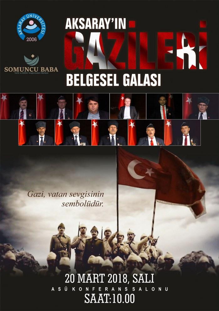 Aksaray'ın Gazileri Belgesel Galası