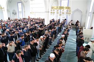 ASÜ'de, Gıyabi Cenaze Namazı Kılındı